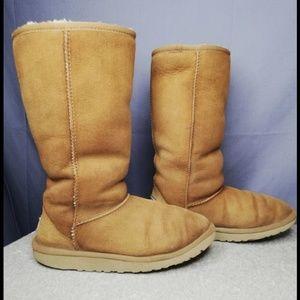 Ugg Australia Tall Classic Chestnut Boots